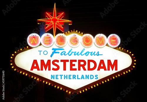 In de dag Las Vegas Amsterdam