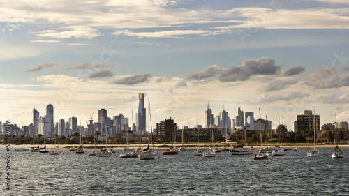 fototapeta na ścianę Melbourne skyline