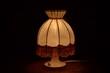 kleine alte Lampe
