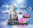 Statue Bouddha et bien-être