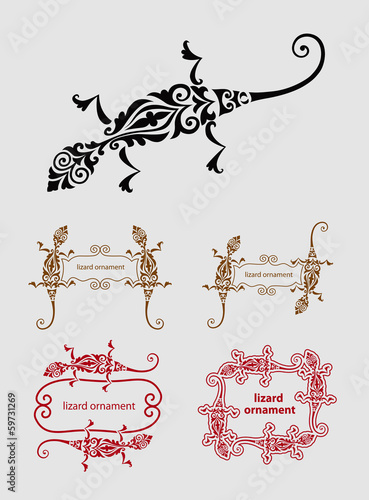 Lizard Ornament Decoration
