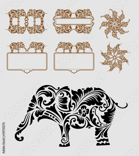 Elephant Ornament Decoration