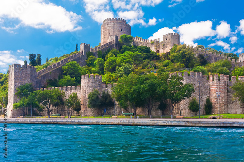 Aluminium Prints Turkey Rumeli Fortress
