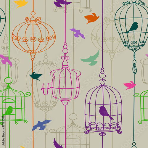 bezszwowy-wzor-ptaki-i-klatki