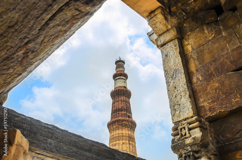 Tuinposter Delhi ancient old building or sturcture