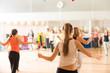 Dance class for women