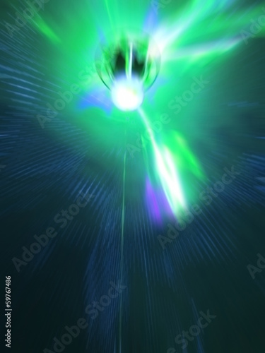 Disco Green Lighting Movement This Stock Ilration