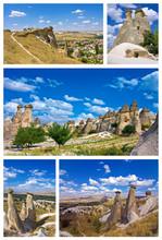 Collage Of Cappadocia - Turkey