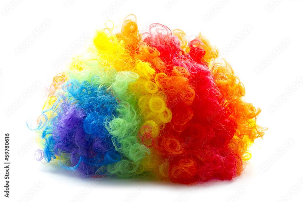 Fototapeta clown wig