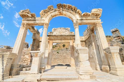 Fotografie, Obraz Hadrian Temple. In the ancient city of Ephesus, Turkey.