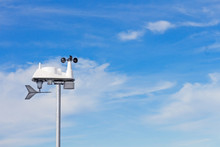 Anemometer, Modern Wind Speed, Direction Indicator