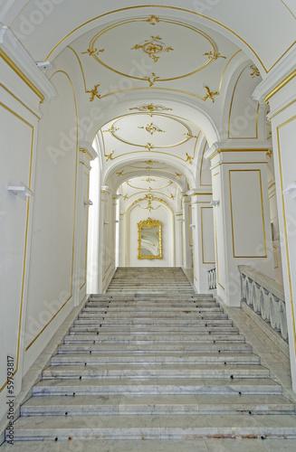 Palace stair.