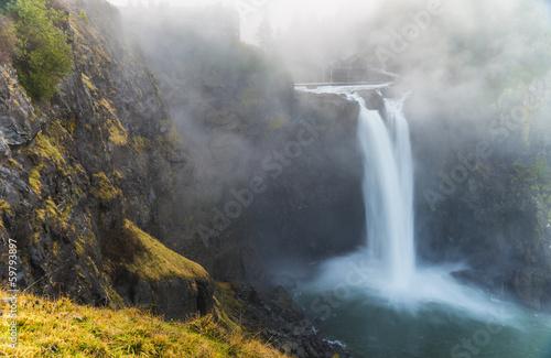 Fotobehang Natuur Park Snoqualmie Falls Washington State