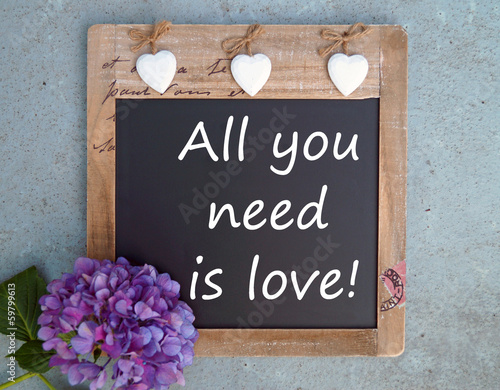 Photo  All you need is love!