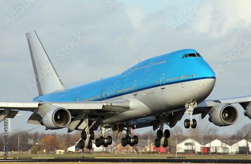 Fotografia  big plane landing