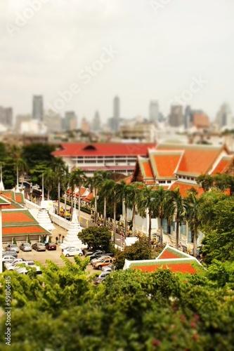 Leinwand Poster  Bangkok