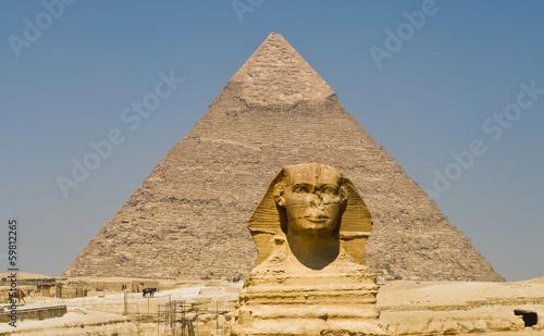 Tuinposter Egypte The Terrifying One