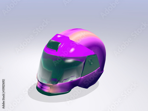 Foto op Plexiglas F1 helmet