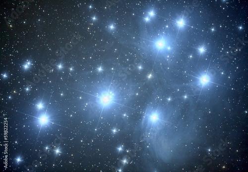 Pleiades M45 nebula