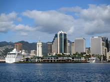 Aloha Tower, Boats, Market, Ha...