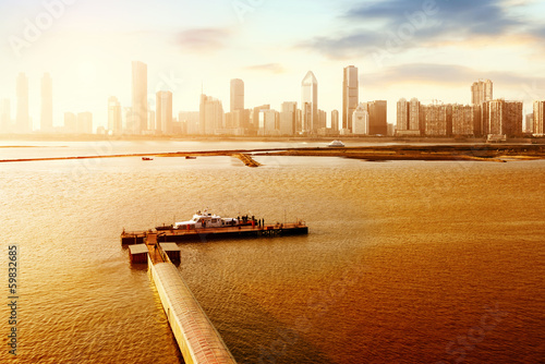 Fotobehang Oceanië Urban Landscape