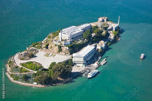 Fotografia, Obraz  Alcatraz jail in San Francisco