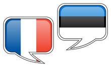 French-Estonian Conversation