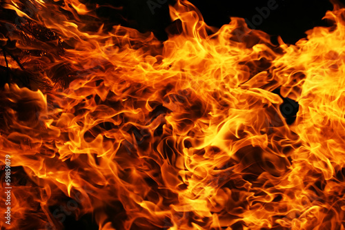 Photo sur Aluminium Feu, Flamme Fire
