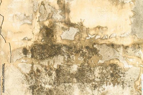 Foto auf AluDibond Alte schmutzig texturierte wand Concrete wall.