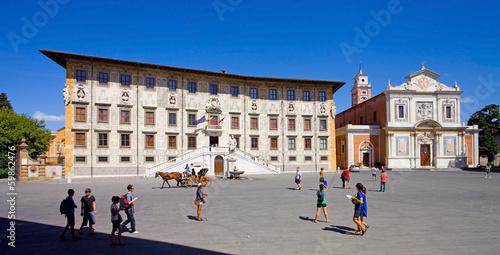 Fototapeta  Pise, Piazza dei Cavalieri (place des cavaliers)