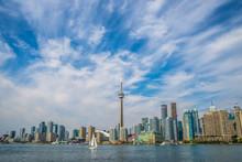 Cn Tower, Toronto, Ontario,