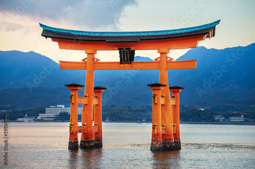 Great floating gate (O-Torii) at Miyajima