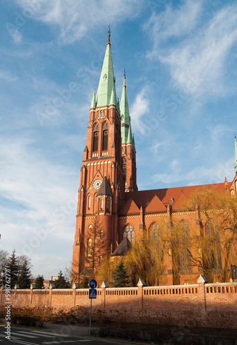 Fototapeta Antoni's Church in Rybnik