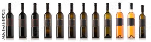 Fotografia  Wine bottle collection