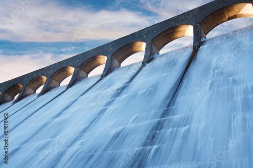 Billede på lærred Clatteringshaws dam
