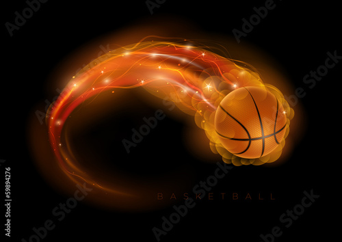 Photo  Basketball comet