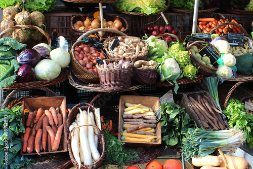 Cadres-photo bureau Legume France - vegetable market