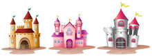 Three Different Castles