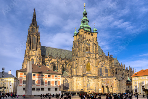 Fotografie, Obraz  St. Vitus Cathedral, Prague, Czech Republic