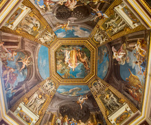 Colorful Scenes On Vatican Cei...