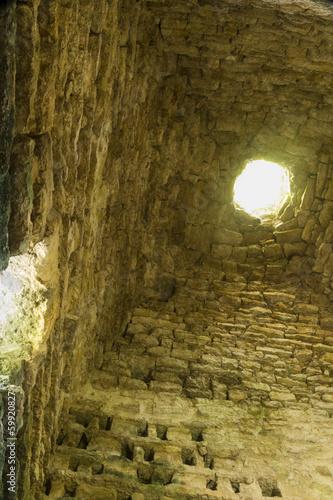 Fotografie, Obraz  Penmon Priory Dovecote, Anglesey, Wales, United Kingdom – inte