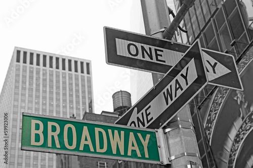 znaki-uliczne-na-broadwayu-w-nowym-jorku