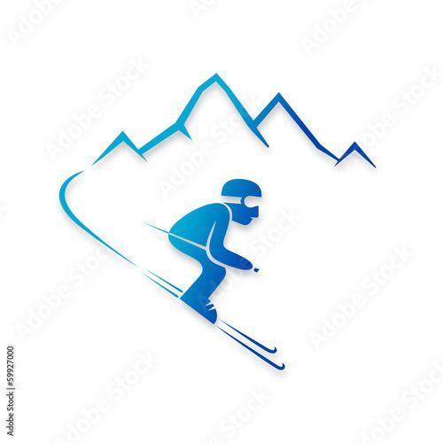 Fotografie, Obraz  ski 2014_01 - 07