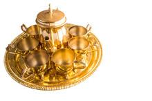 Old Middle Eastern Tea Set Ove...