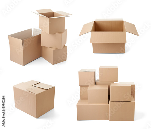 Cardboard Box Package Moving Transportation Delivery Buy This
