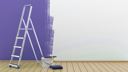Painted wall