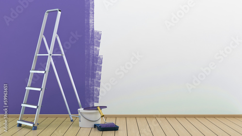 Fototapeta Painted wall obraz