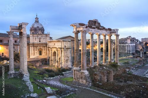 Forum Rome Italie Wallpaper Mural