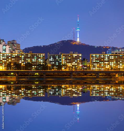 Seoul city Poster