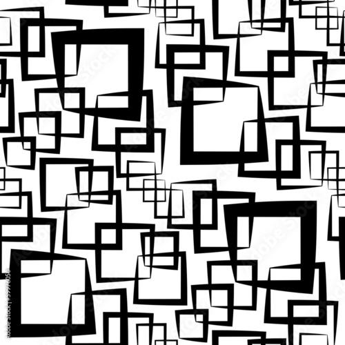Tapeta ścienna na wymiar Seamless Monochrome Pattern